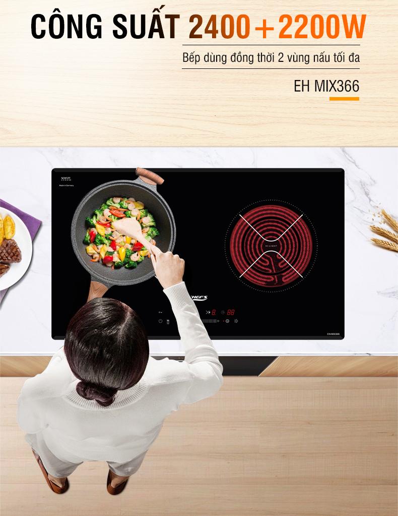 bếp điện từ chefs eh mix366