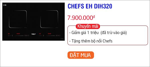 bếp từ chefs giá dưới 8 triệu đáng mua